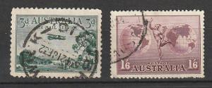 C1,C4 Australia Used Air Mail