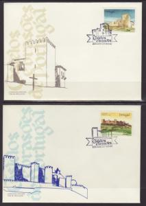 Portugal 1663-1668 Castles S/6 U/A FDC