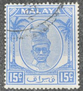 DYNAMITE Stamps: Malaya Perak Scott #112 – USED