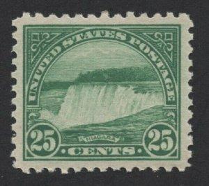 United States MINT Scott Number 568 MVLH  VF  -  BARNEYS