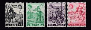 GRENADA 345-348 MNH SCV $6.50