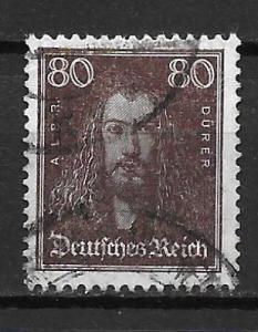 Germany 362 80f Men single Used (z2)