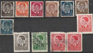 Yugoslavia Used Lot #1