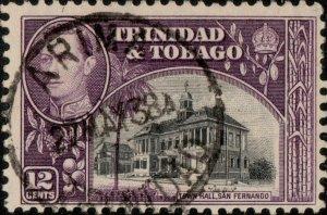 TRINIDAD & TOBAGO - 1938 (May 27) - ARIMA/TRINIDAD CDS on SG252 - Ref.833e