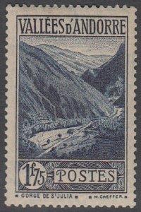 French Andorra 55 MH CV $50.00