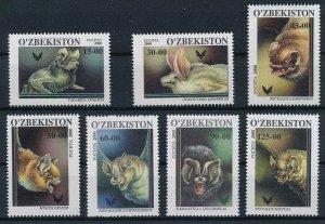2001 Uzbekistan 266-72 The bats 5,50 €
