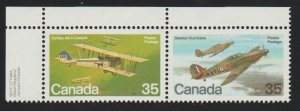Canada 876a Military Planes - MNH
