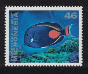 Micronesia Red-tailed Surgeonfish Fish 46c SG#287