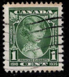 CANADA Scott 211 Used  Princess Elizabeth Stamp