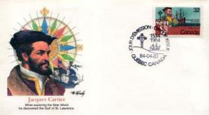 Canada, First Day Cover, Ships