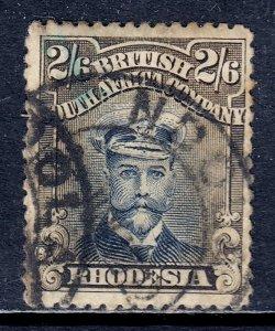 Rhodesia - Scott #133 - Used - Heavily toned, crease - SCV $110