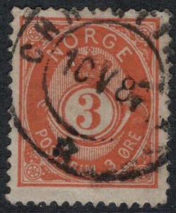 Norway #38a  CV $25.00
