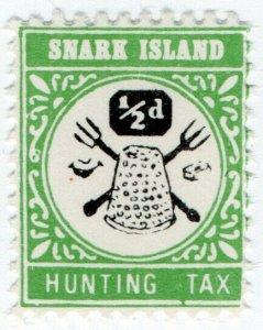 (I.B) Cinderella : Gerald King Wonderland : (Snark Island Hunting Tax ½d)
