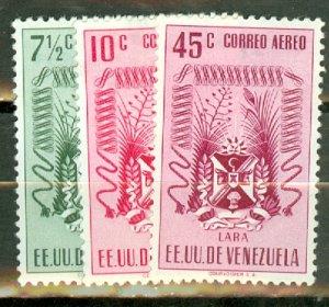 Venezuela C410-7 mint short set, some faultsCV $41.85; scan shows only a few