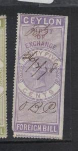 Ceylon Revenue BH 23 VFU (6dqx)