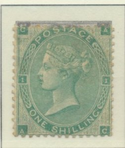 Great Britain Stamp Scott #42, Unused Spots of Original Gum With Hinge Gum/Ma...