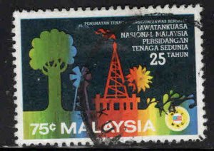 Malaysia Scott 227 Used Wold Energy Conference stamp