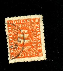 British Guiana #25 Used VF Cat$60
