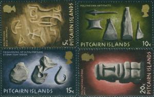 Pitcairn Islands 1971 SG116-119 Polynesian set MNH
