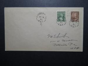 Canada 1935 Pangnirtung NWT Arctic Cover to USA - Z11145
