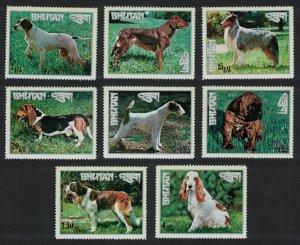 Bhutan Setter Collie Boxer Dogs 8v MI#536A-543A
