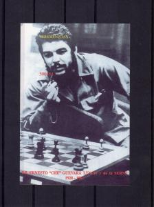 Turkmenistan 1997 Che Guevara play Chess SS Imperf.MNH YT#Block 7