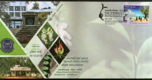 India 2019 Banglore University Botany Department Science Special Cover # 18687