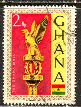 Ghana; 1967: Sc. # 288: O/Used Single Stamp