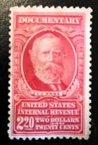 R603 Documentary $2.20, no cancel, NH, Vic's Stamp Stash