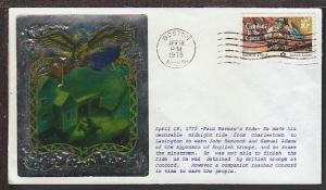 Paul Revere's Ride 1975 Ross Metallic Cover