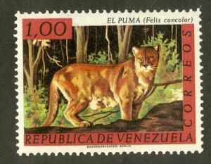 VENEZUELA 830 MNH SCV $2.75 BIN $1.50 MAMMAL