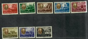 Hungary Sc#B198-B198d, cB1-cB1c M/NH/VF, Cv. $33