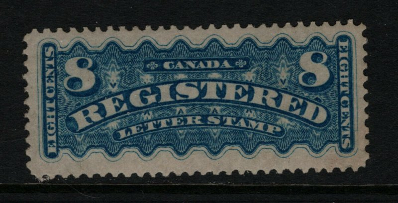 Canada #F3 Extra Fine Mint Full Original Gum Hinged **With Certificate**
