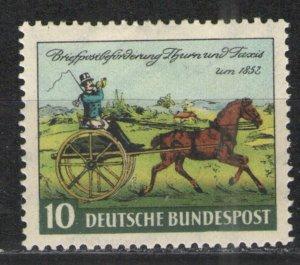 Germany -  Deutsche Bundespost 1952 Sc# 692 MH VG