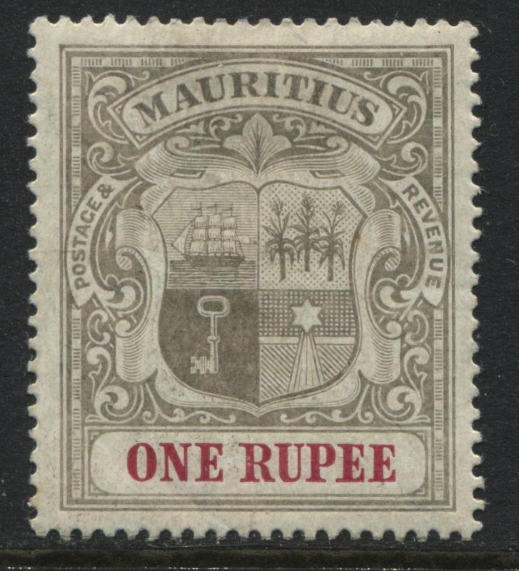 Mauritius 1902 1 rupee mint o.g.