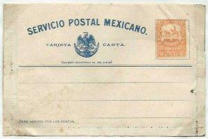 MEXICO 4c lettercard 1897 unused...........................................58734