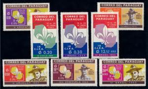 [66731] Paraguay 1965 Scouting Jamboree Pfadfinder  MNH