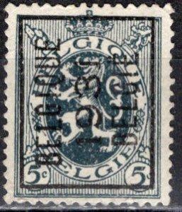 Belgium; 1929: Sc. # 201; O/Used Precancel Single Stamp