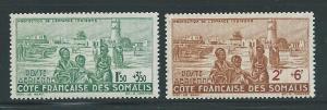 Somali Coast CB1-2 1942 Child Welfare set MNH