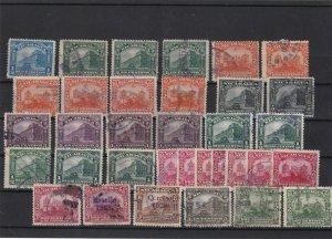 nicaragua 1927-28 stamps  ref 10836