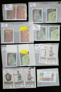 French Polynesia Stamp Sets and Singles Lot
