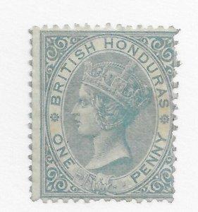 #1 British Honduras MH - CAT $72.50 Stamp