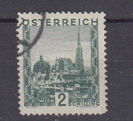 J29458, 1929-30 austria hv of set used #339