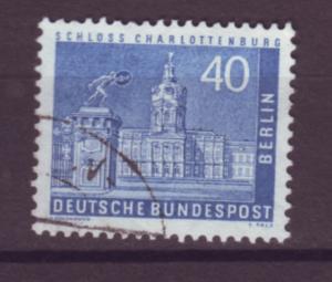 J20704 Jlstamps 1956-63 berlin germany used #9n131 castle