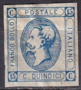 Italy #23 F-VF  Unused  CV $7.00  (Z6676)