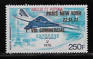 Wallis and Futuna Islands C73 Concorde New York Flight single MNH