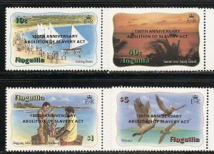 Anguilla 557-8a 1983 Boys Brigade set and s.s. MNH