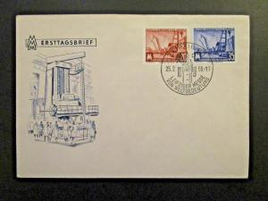 Germany DDR SC# 286 - 287 FDC / Unaddressed / Cacheted - Z4554