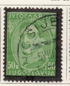 Jugoslavia 1932-34 Early Issue Fine Used 50p. 099391