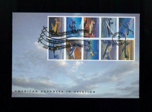 2005 Oshkosh Wisconsin American Advances in Aviation Airplanes First Day Cover